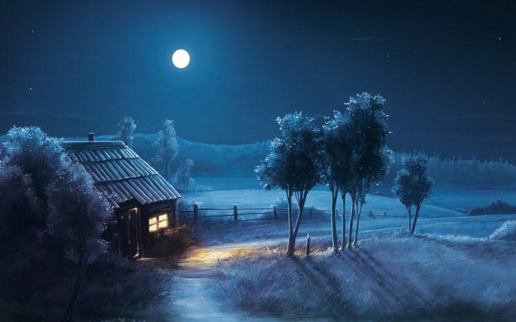 La notte silenziosa nel villaggio del rumore